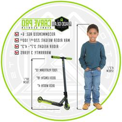 #1 Pro Scooter MADD GEAR - CARVE PRO - Black Green - Suits B