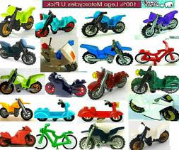 Lego Motorcycles Dirt Bike Scooter Minifigure Sport Ninja Po