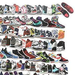 100 Sneaker Basketball Sports Shoes Vinyl Stickers Sticker B