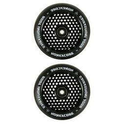 Root Industries 120mm Honeycore Wheels - Black and Black - P