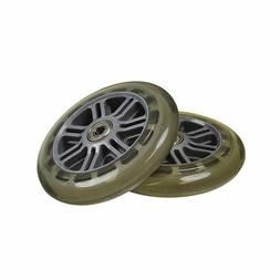 125 mm Wheels for the Razor A3 Kick Scooter, Clear Wheel Sil