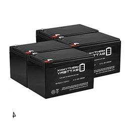 Mighty Max Battery 12V 12AH F2 Battery for Huffy Buzz Electr