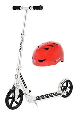 Razor 13013211 A5 DLX Scooter  with VPRO Youth Helmet