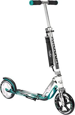 HUDORA 205 Adult Folding Kick Scooter- 2 Big PU Wheels 205 m