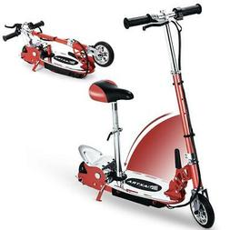 Maxtra Folding Electric Scooters with Seat for Kids 177lbs M