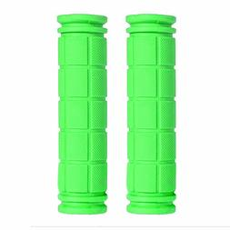 2 soft Flangeless Grips Softies For Bmx Bikes & Pro Scooters