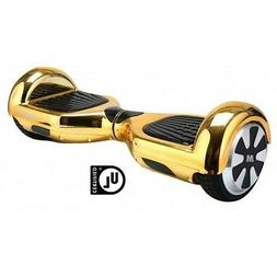 2 Wheel Electric Motorized Scooter Bluetooth GOLD Lamborghin