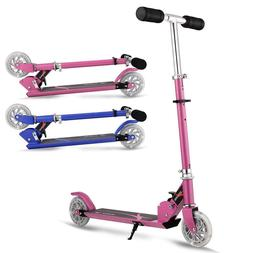 2-Wheel Kick Scooter for KidsFolding, 3 Levels Adjustable He