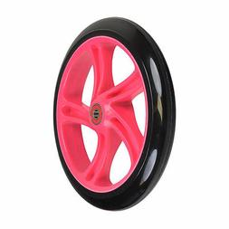 200 mm Wheel for the Razor A5 Lux Kick Scooter, Black Wheel