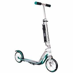 205 Adult Folding Kick Scooter- Big PU Wheels Mm, Adjustable