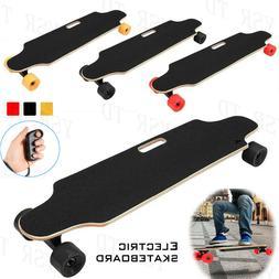250W 20km/h Electric Skateboard Longboard Wireless Remote Co