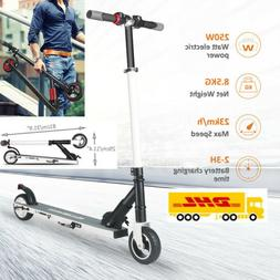 250W High Speed Folding Adult Electric Kick Scooter Lightwei