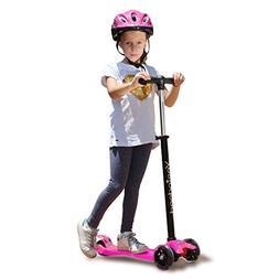 YESINDEED 3 Wheel Kick Scooter