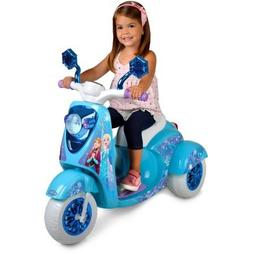 3 Wheel Scooter Frozen Character Kids Kick Toy Outdoor Play