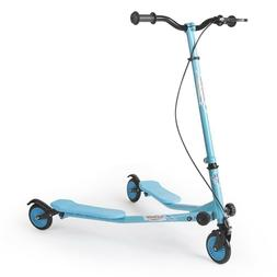 Aodi 3 Wheel Scoter Foldable Kick Push Outdoor Sports Multip