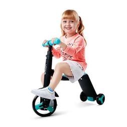 3 Wheels Kids Scooter 3-in-1 Adjustable Handlebar for 2-6 ye
