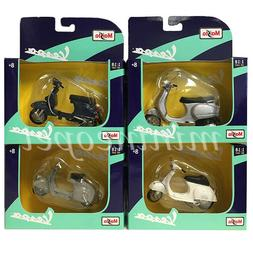 MAISTO 31540 VESPA PIAGGIO SCOOTER MOTORCYCLE 1/18 4 STYLES