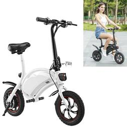 350W 36V Folding Electric Bicycle Bike EBike Moped Scooter A