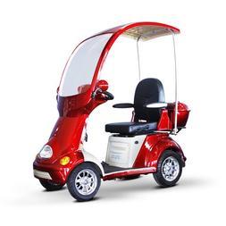 EWheels  4-Wheel Full Covered Scooter w/ Electromagnetic Bra