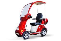 EWheels - 4 Wheel Full Covered Scooter - 500lb. Wt. Capacity