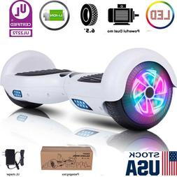 6.5 Hoverboard Electric Self Balancing Scooter LED Light UL2