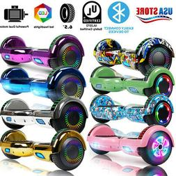 """6.5"""" Bluetooth Hoverboard Self Balance Electric Scooter UL B"""