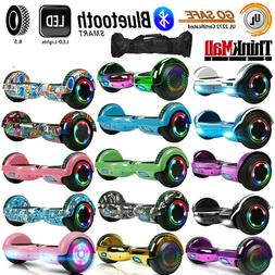 "6.5"" Bluetooth Electric Scooter Hoverboard Balancing LED -"