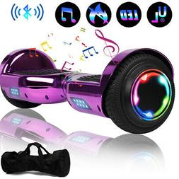 "6.5"" Hoverboard Bluetooth 2 Wheel Electric Self Balance Scoo"