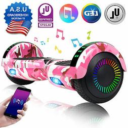 6 5 hoverboard bluetooth electric led self