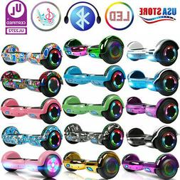 """6.5"""" Hoverboard Bluetooth Scooters Electric Self Balancing S"""