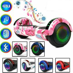 "6.5"" Hoverboard Bluetooth Electric Self Balancing  LED Lig"