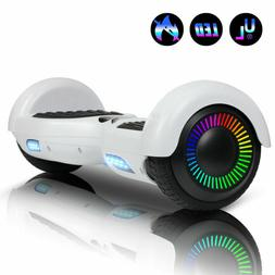 """6.5"""" Hoverboard Electric Scooter Self Balancing LED Light UL"""