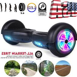 "6.5"" LED Hoverboard Smart Wheel Electric Self Balancing Scoo"