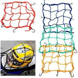 scooter 6 Hooks 3030cm Motorcycle Mesh Net Bag Luggage Cargo