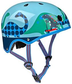 Micro Blue Scootersauras Helmet - Small