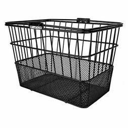 Sunlite Standard Mesh Bottom Lift-Off Basket w/Bracket, Blac