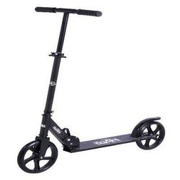 Kid's Kick Scooter Extra Large Wheels Boys Girls Foldable Ad