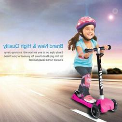 Adjustable Kids Scooter Deluxe for Age 3-8 Kick Scooters Gir