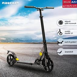 Kick Scooter Folding 2 Wheels Ride Portable Lightweight Adul