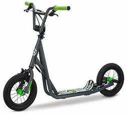 Mongoose Air Tire Kids Scooter 12-Inch Air-Inflated Wheels G