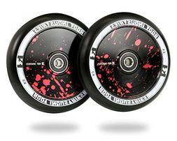 Root Industries 110mm AIR Wheels Paint Splatter
