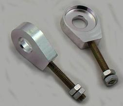 scooter 12mm Aluminum Pit Dirt Bike Axle Chain Tensioner Adj