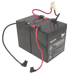 Razor Scooter Battery - 4.5Ah20HR wReset Wires for Razor E10