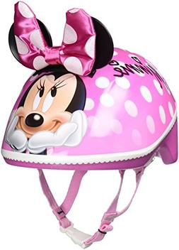 Bell Sports Disney Minnie Mouse Toddler 3D Helmet, Pink