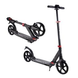 Playshion Big Wheels Kick Scooter with Dual Suspension