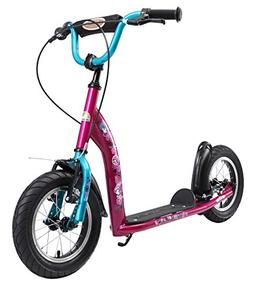BIKESTAR Original Safety Pro Sport Push Kick Scooter Kids wi
