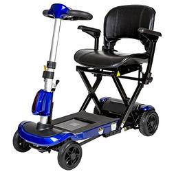 Drive Blue Electronically Self-Folding 4 Wheel Mobility Scoo