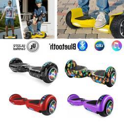 "Bluetooth 6.5"" Off Road Hoverboard Electric LED Self Balanci"