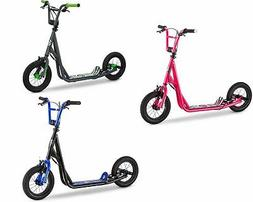 Mongoose BMX Expo Scooter, 12-inch Wheels, Multi Colors Ages