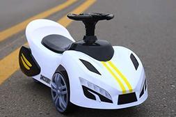 DDCX Children's Twist car Ferrari New Scooter can sit with M